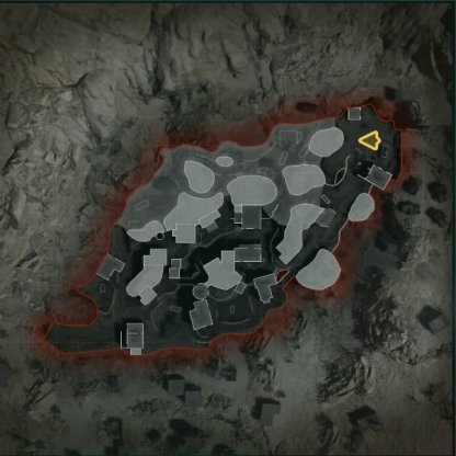 Azhir Cave (Night) Map Layout