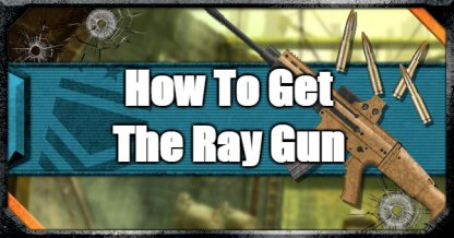 How To Get The Ray Gun In Blackout Mode - Mystery Box Guide