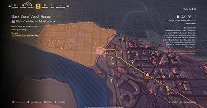 How To Obtain Dark Zone West Recon