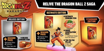 Different Editions of DBZ Kakarot