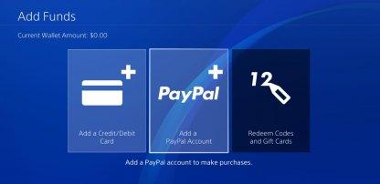 Billing Methods for PlayStation Store