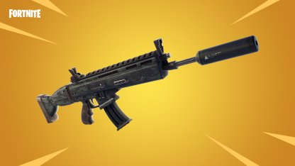 New Weapon: Suppressed Assault Rifle