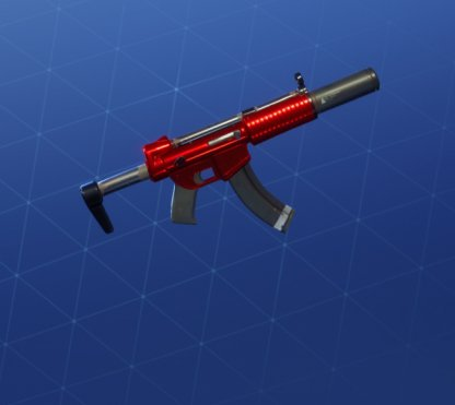 ULTRA RED Wrap - Submachine Gun