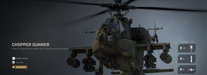 Chopper Gunner - Killstreak Overview