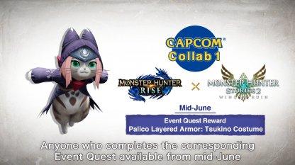 Capcom Collab 1 (Monster Hunter Stories 2)