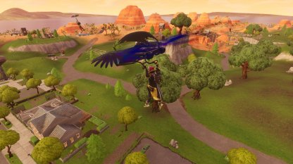 Fornite Battle Royale Season 7 Week 7 Challenge Land at Locations Stage Challenge