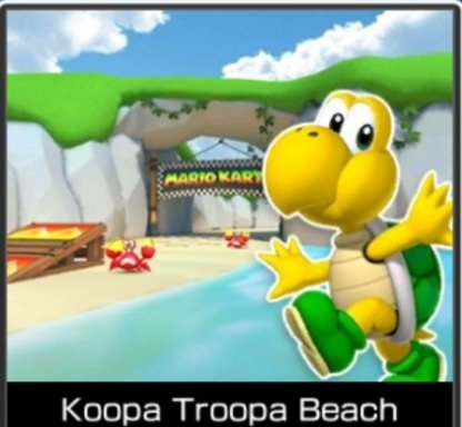 Recommended Course: Koopa Troopa Beach