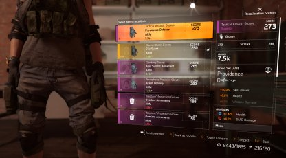 Division2 | Weapon & Gear Recalibration Guide: Change Stat