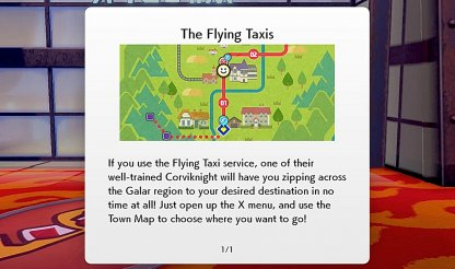 Use Flying Taxi To Fast Travel