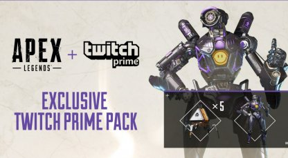 Apex Legends Exclusive Twitch Prime Pack