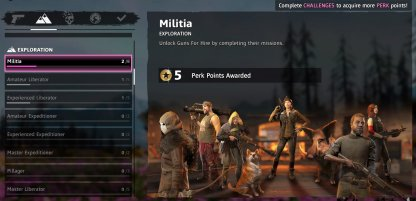 Far Cry New Dawn Complete In-Game Challenges