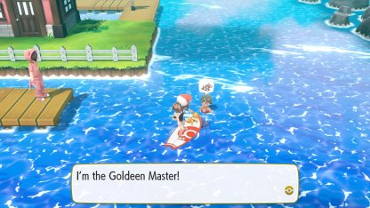 Goldeen Master Trainer