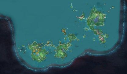 Inazuma Full Map