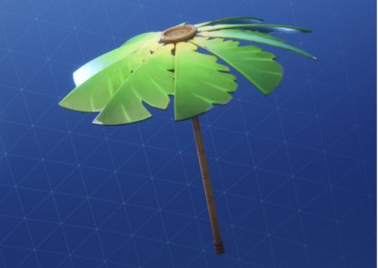How To Get The Palm Leaf Umbrella