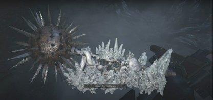 Giant Crystal Mace