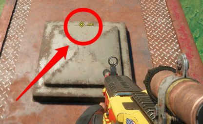 Traps Are Marked In Yellow