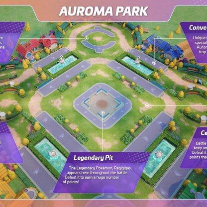 Auroma Park - Map & Wild Pokemon Guide