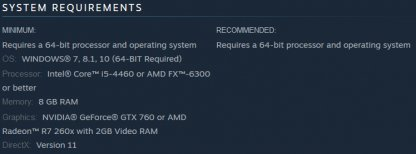 PC Version Available Through Steam