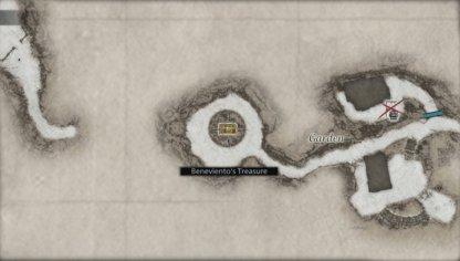 Berengario's Chalice Location