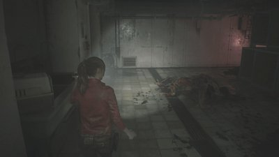 Resident Evil 2 Claire B Walkthrough Pt.3: Parking Garage ~ Finding Card Key