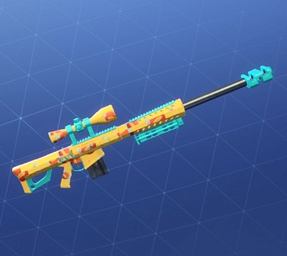 FISH FACE Wrap - Sniper Rifle