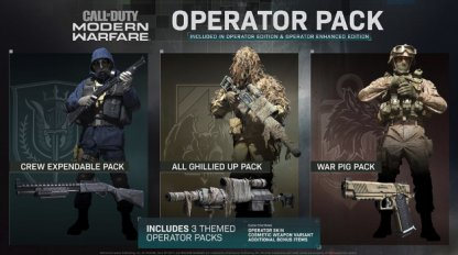 Operator Pack Weapon Blueprint