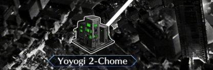 Yoyogi 2-Chome map