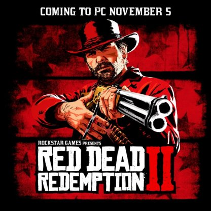 RDR2 is coming to PC