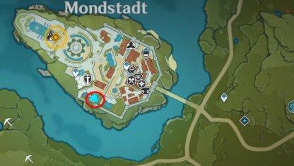 Goth location map