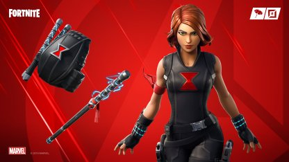 BLACK WIDOW OUTFIT Skin