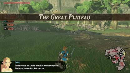The Great Plateau - Level & Characters
