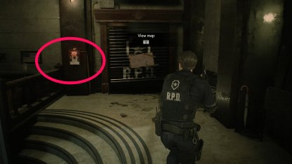Resident Evil 2 Demo Starting Area Switch East Hall