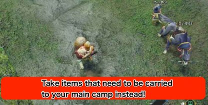 SubCamp Items
