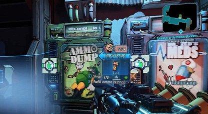 Replenish Ammo at Vending Machines