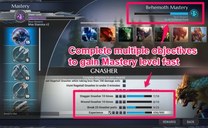 Complete Multiple Mastery Objectives Nearing Completion