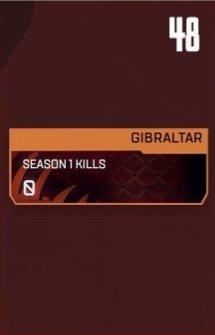 Gibraltar Stat Tracker