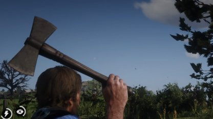 Red Dead Redemption 2 Unique Weapons Rusted Double Bit Hatchet