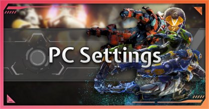 Anthem Recommended Settings PC Requirements