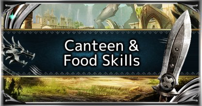 Canteen System Explained - Best Food Skills List & Guide