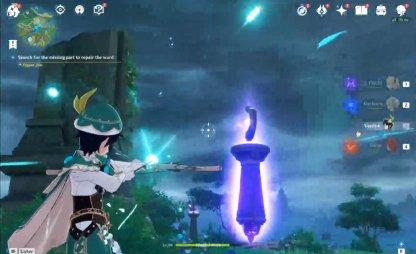 Shoot Glowing Electro Pillar To Release Electro Ball
