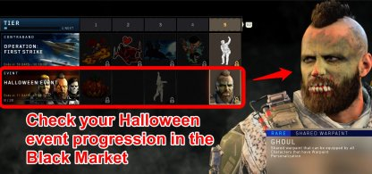 CoD: BO4 Halloween Event - Black Market