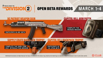 Cosmetic Skins & Backpack Trophies From March 1-4 Open Beta