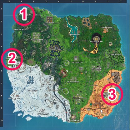 Recommended Gathering Locations