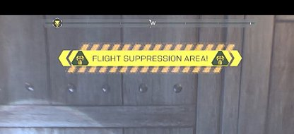 You Will Enter A Flight Suppression Area
