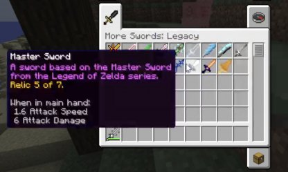 More Swords Legacy Mod Overview