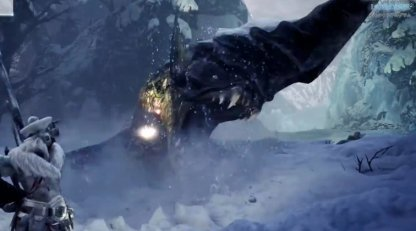 New Monster Found Only In Iceborne