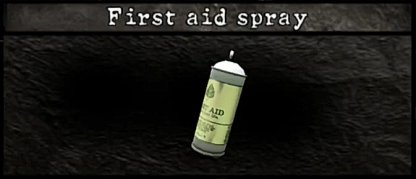 First Aid Spray