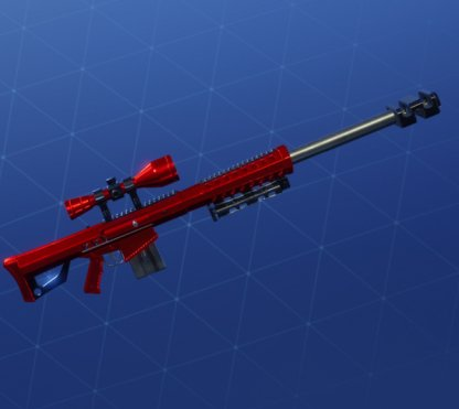 ULTRA RED Wrap - Sniper Rifle
