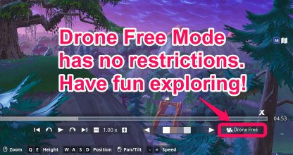 Drone Free Mode