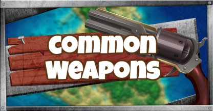 Common Weapons List(★)